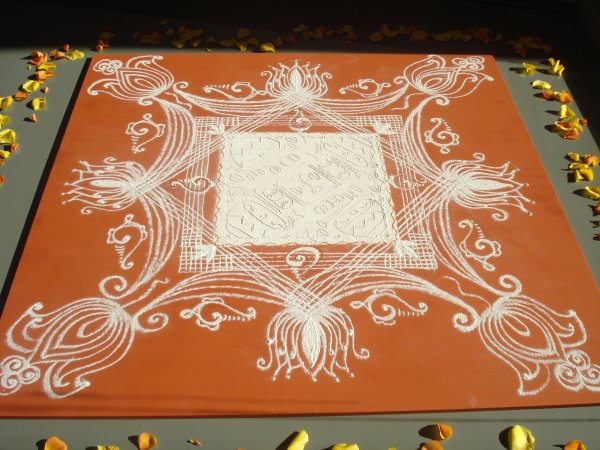 9 Best Line Rangoli Designs And Patterns   Styles At Life Indian Eyebrow Threading