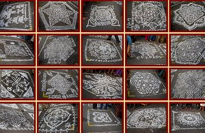 indian heritage arts crafts traditional customs kolams