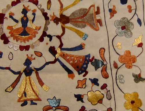 Indian Heritage  Embroidery  Chamba Rumal Himachal