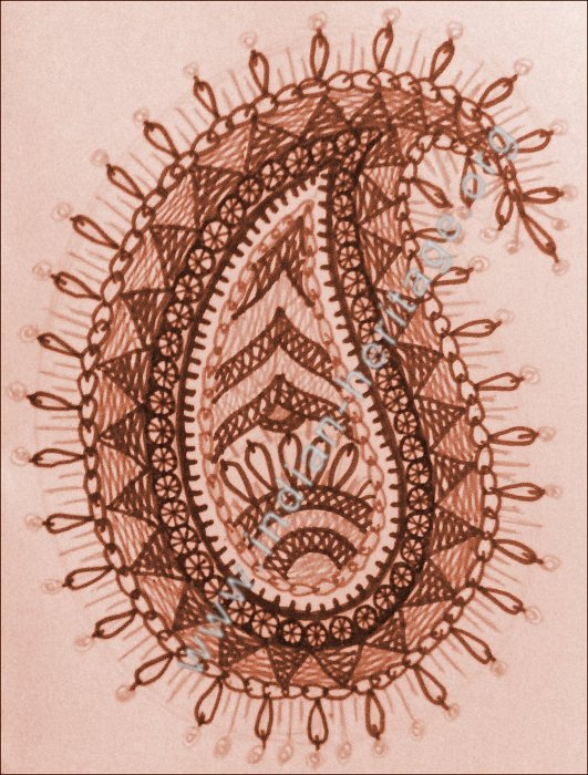 Design for embroidery / painting