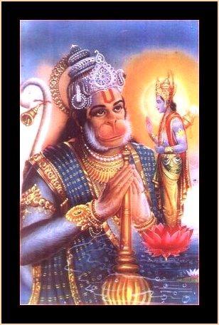 Indian Heritage - Hindu Gods - Hanuman