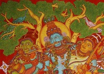 Indian Heritage - Paintings - Kerala Murals