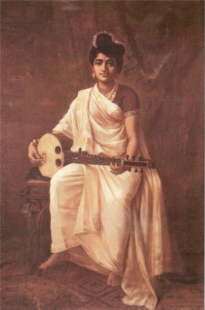 Indian Heritage - PAINTINGS BY RAJA RAVI VARMA